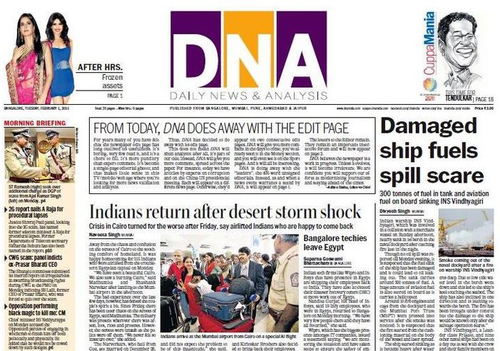 Dna newspaper