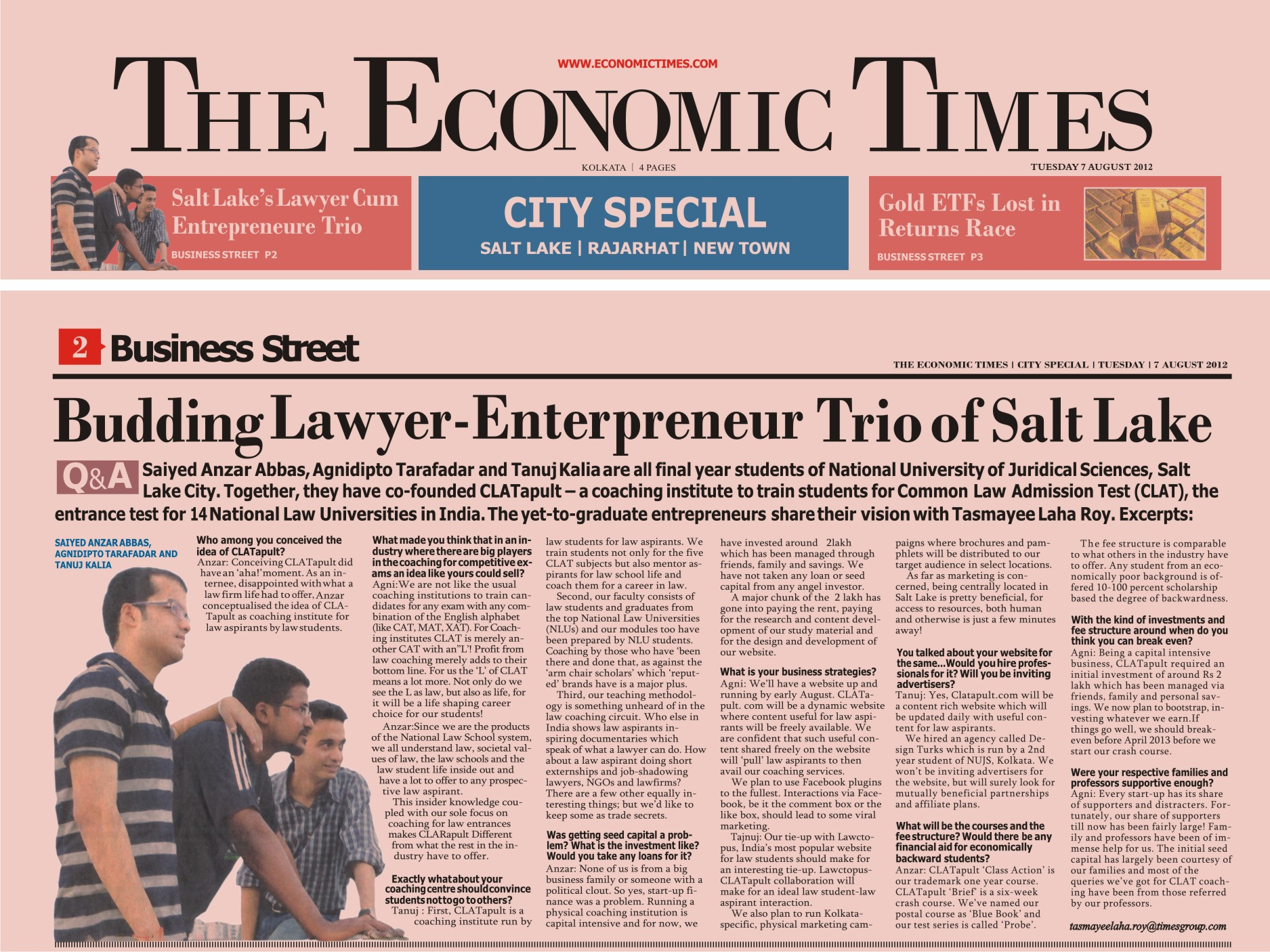 Image result for The Economic Times   Newspapers